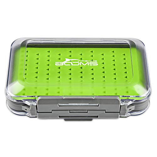 Booms Fishing FFB Two-Sided Waterproof Fly Box -