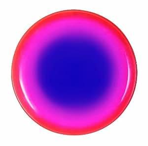 Luminarc 9299528 Cherry Fizz - Juego de 6 platos de postre (cristal, 20 cm), color rojo, rosa y azul