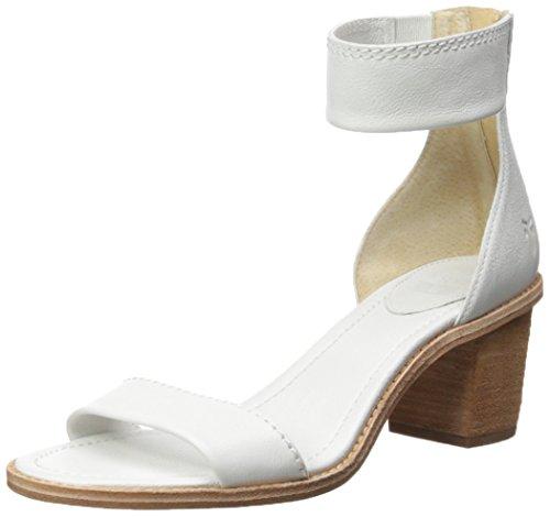 Sandal Zip 72158 Women's Back Dress Brielle Frye White tqXOW