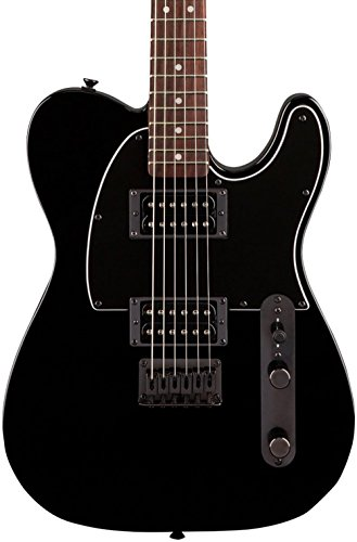 squier-fsr-affinity-telecaster-hh-with-matching-headcap-metallic-black