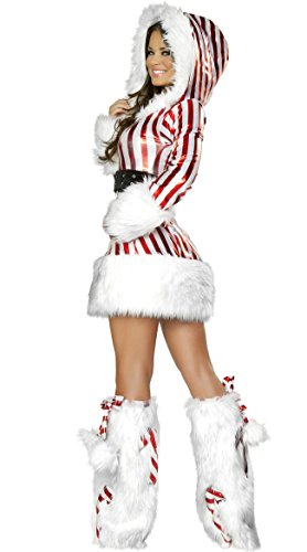 Sexy Penguin Costumes (Christmas Costume Sweet Snowman Yumi Sun Push Up Penguin Stripe Girl Fancy Ball Cosplay Club)