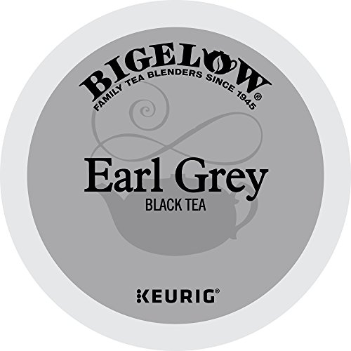 Bigelow Earl Grey Black Tea Keurig K-Cups, Box of 12 Cups (Pack of 6), Single Serve Portion Premium Tea in Pods, Compatible with Keurig and other K Cup Coffee and Tea Brewers