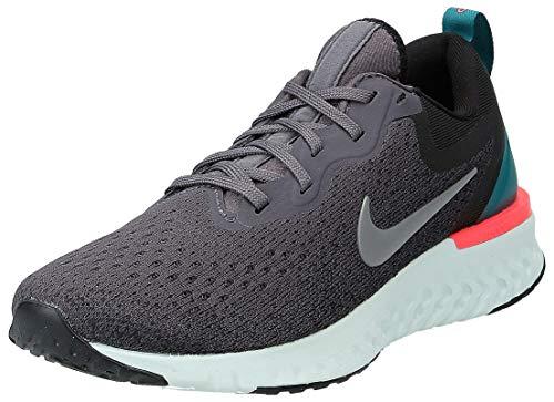 Nike Womens Odyssey React Running Trainers AO9820 Sneakers Shoes (UK 5.5 US 8 EU 39, Thunder Grey Gunsmoke Black 007)