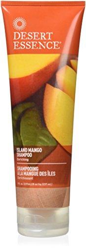 Island Essence (Desert Essence Island Mango Shampoo, 8 Fluid Ounce)