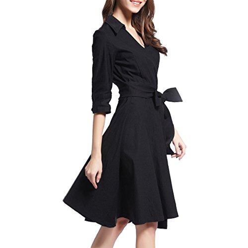 Ouxiuli Women's 50s Audrey On Sale Rockabilly Party Swing Skaters Dresses XL - Sale For 1950s Fashion