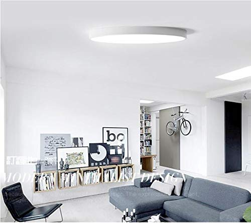 Práctico 5cm LED Lámparas de techo Hierro redondo redondo ...