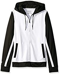 Girl\'s ASICS Girls Jr Lani Jacket, White/black, Medium