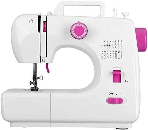 GXK - Máquina de coser portátil de 2 velocidades, 16 puntas, hilo ...