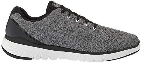 Black Flex Advantage Men's Oxford Stally Charcoal Skechers 3 0 T86EWwx