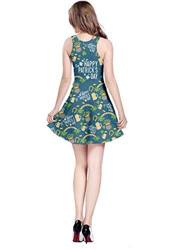 CowCow - Robe - Femme vert Green -  vert - XX-Large