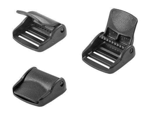 (10 - 1 Inch YKK Cam Lock Lever Plastic Buckles)