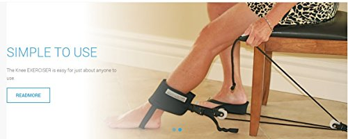 Knee Replacement- KneePro Exerciser -Range of Motion - Knee Machine