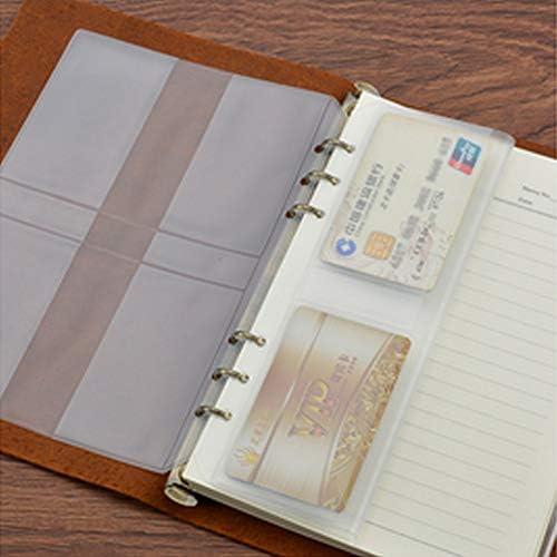 YXIAOn Notizbuch, Kreatives Minimalistisches Notizbuch, Leder, lose Blätter, Geschenk – Tagebuch und Planung, 48 Blatt schönes Buch, glattes Schreiben grau