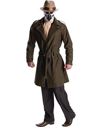 (DC Comics Watchmen Rorschach Costume, Adult)