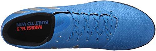 adidas Performance Mens Messi 16.3 TF Soccer Shoe Shock Blue Matte Silver/Black TPnAy