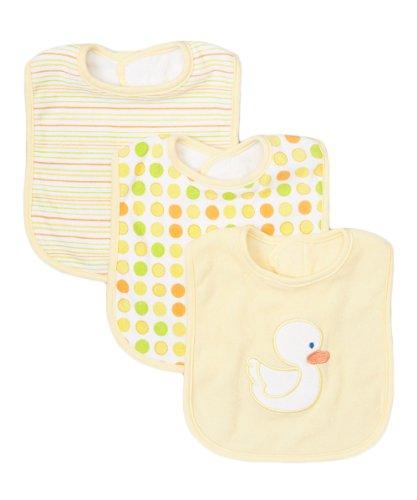 Yellow Baby Bib - 4