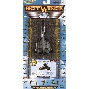 Hot Wings SR-71 Blackbird W/DRONE - Cast Wing