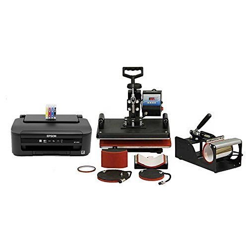 PixMax 5 en 1 Combo Calor Prensa con Impresora sublimación ...