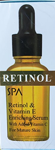 SPA COSMETICS Retinol & Vitamin E Enriching Serum - with Vitamin C - For Mature Skin
