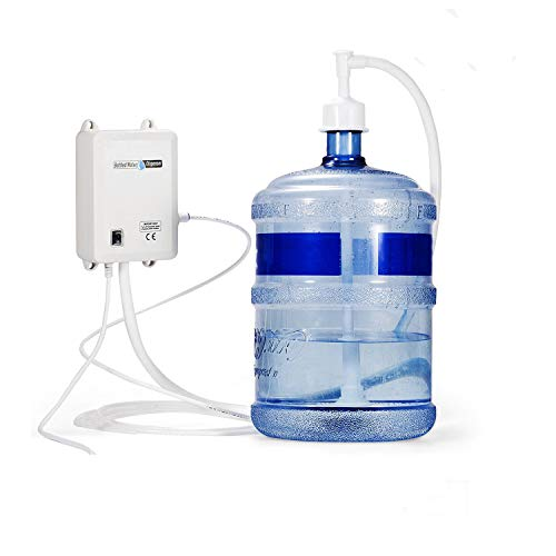 - Bottled Water System Single Water Inlet 1 Gal/Min Bottled Water Pump 40 PSI Bottle Water Dispensing Pump System with 20ft PE Pipe 110V US Plug for Home Coffee Brewer Ice-Maker Refrigerator 2.5L