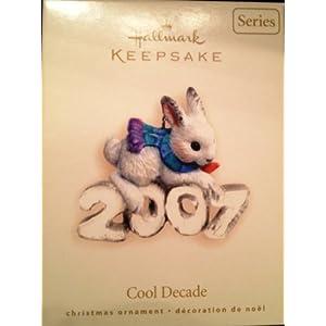 1 X COOL DECADE #8 2007 HALLMARK KEEPSAKE ORNAMENT QX7137 by Hallmark