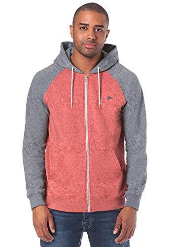 Felpa Zip Heather Quiksilver Garnet Uomo Everyday zqxwwER