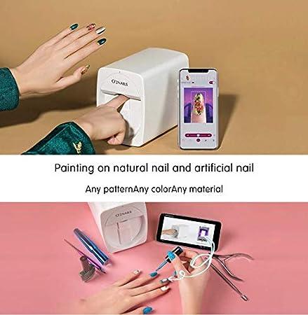 Amazon.com: Máquina para pintar uñas O2 Nails M1 3D ...