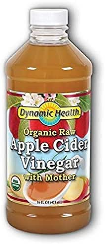 Dynamic Health Organic Apple Cider Vinegar With Mother, 16 oz Liquid