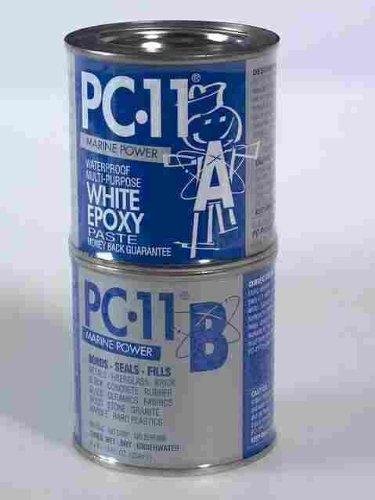 Marine Paste Epoxy (PC Products PC-11 1 Lb PC-11 White Epoxy Paste)