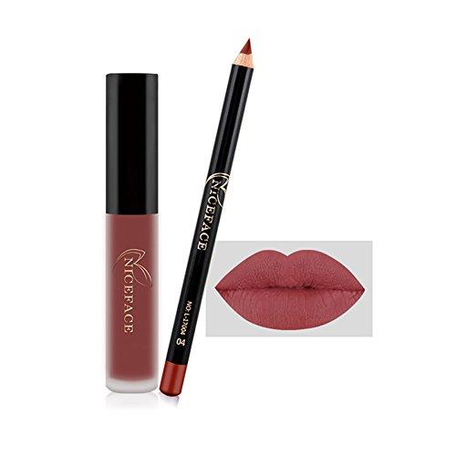 Gracefulvara Makeup Matte Long Lasting Waterproof Lip Gloss