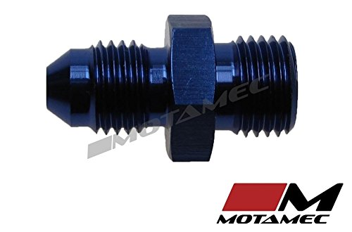 4/AN4/Jic vers M12/x 1,25/Filetage m/étrique Alliage Fitting Adapter Motamec un