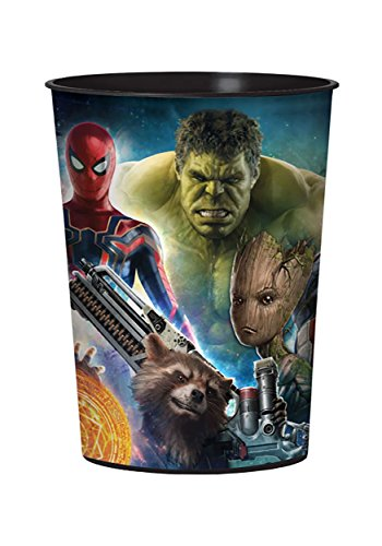 BirthdayExpress Marvel Avengers Infinity War 16oz. Plastic Favor Cup