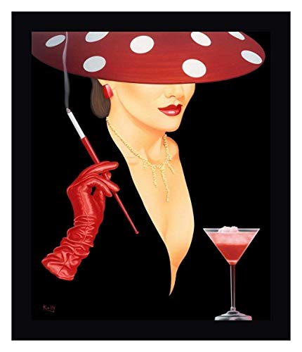 Spotted Hat Lady I by Gerard Kelly - 33