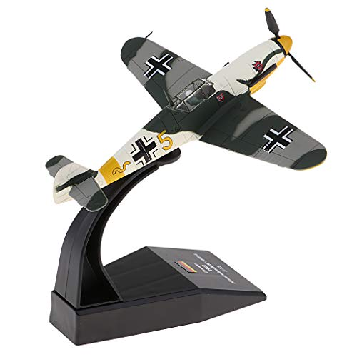 CUTICATE 1:72th Bf-109 / Me-109 Germany Piston Fighter Military Helicopter Airplane Toy Collection