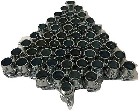 Steel Set Screw Connectors for EMT Conduit 1-1//4 in. diameter; 5-pack