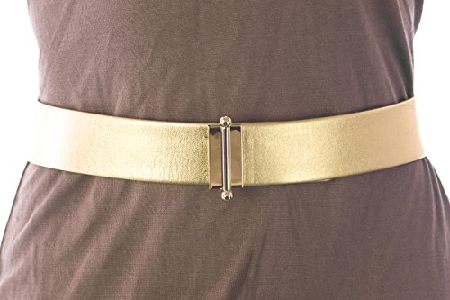 Max Mara Women's Ceres Pin Closure Belt Medium (31'') Gold by MaxMara (Image #2)