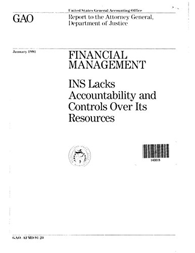 Financial Management: INS Lacks Accountability and Controls Over Its Resources