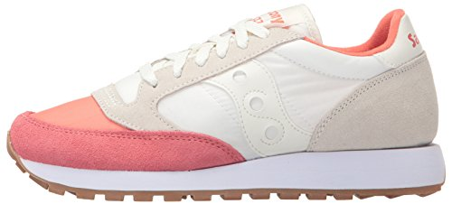 SAUCONY JAZZ des femmes ORIGINAL Coral Cream baskets basses S1044 426 r66TUn