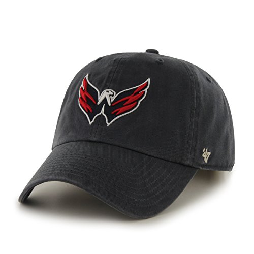 nhl-washington-capitals-clean-up-adjustable-hat-one-size-navy