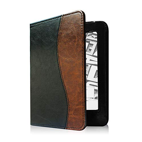 Fintie Folio Case for Kindle Paperwhite - Fits All Paperwhite Generations Prior to 2018 (Not Fit All-New Paperwhite 10th Gen), Dual Color