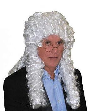 Juez Blanco Peluca Lote/Conjunto de 3 Piezas -