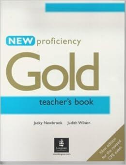 Cpe Gold Teachers Book