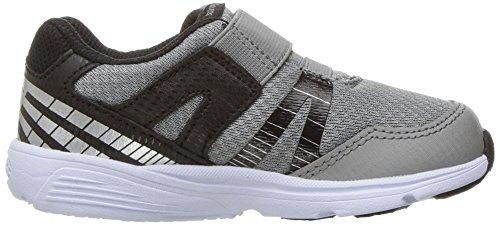 Saucony Baby Ride Pro Running Shoe (Toddler/Little Kid), Grey/Black, 5 W US Toddler