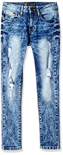 Southpole Kids Jeans - Southpole - Kids Boys' Big Flex Denim, Medium Sand Blue Skinny, 16