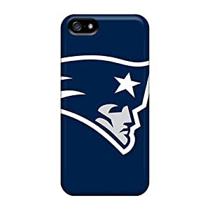 Iphone 5/5s Cases Bumper Tpu Skin Covers For New England Patriots Logo Accessories
