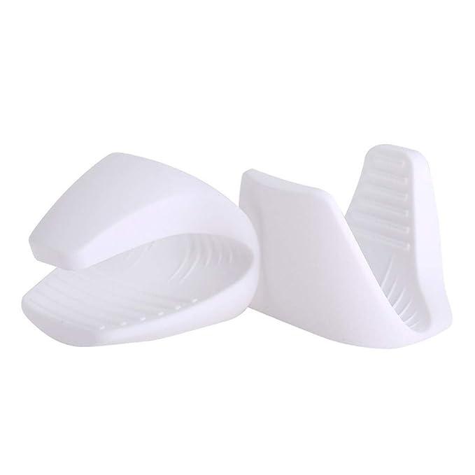 Amazon.com: Mini guantes de horno, de silicona, resistentes ...