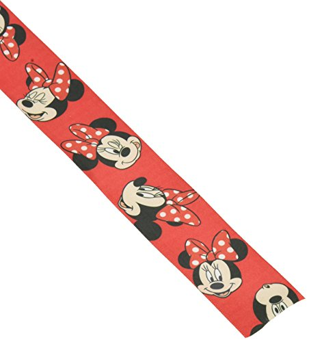 Offray Minnie Mouse Craft Ribbon, 1 1/2-Inch by 9-Feet, Red -