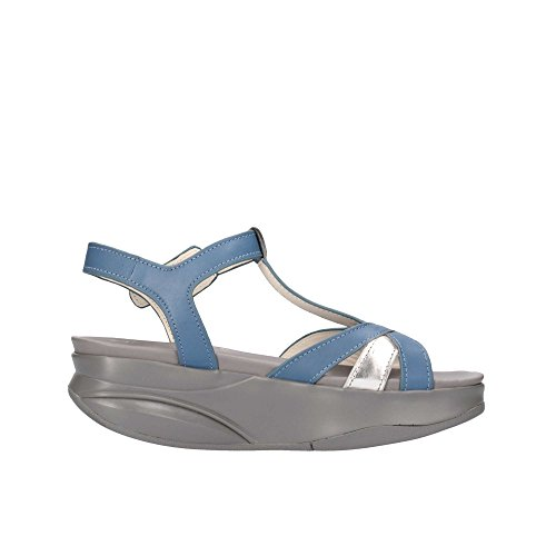 MBT , Damen Sandalen blau blau