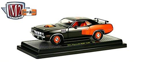 1971 Plymouth Cuda HEMI Black 50th Anniversary 1/24 by M2 Machines 40300-46B ()
