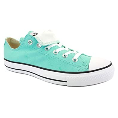 041a52eb57f388 Converse All Star Double Tongue Ox Womens Trainers 530234C Light Blue White  - 3  Amazon.co.uk  Shoes   Bags